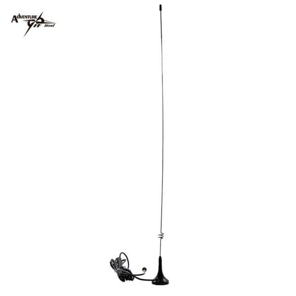 Antena imantada para sustituir la antena del walkie como el Baofeng UV5R.