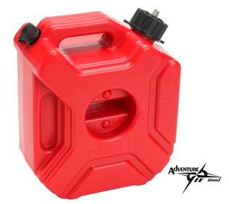Depósito de gasolina portátil con capacidad de 3L.